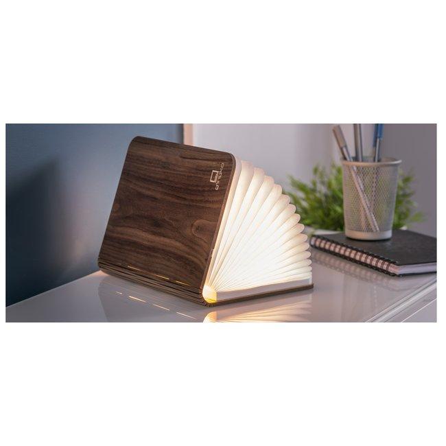 Gingko Smart Book Light - small - Walnuss