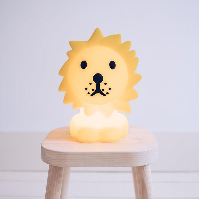 Mr. Maria - Lampe Lion Première Lumière - ami de Miffy - rechargeable - dimmable