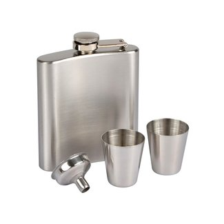 Hip Flask with Shot Glasses