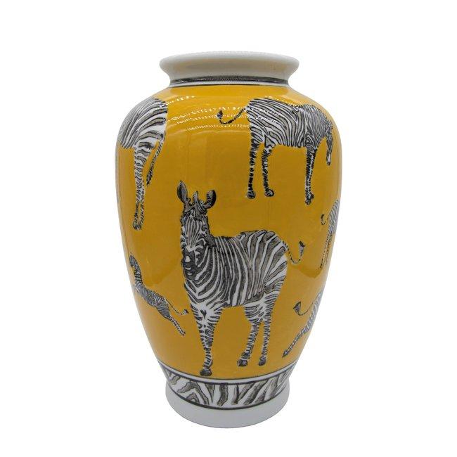 Loco Lama Vase Zebras