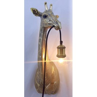 Wall Lamp Golden Giraffe