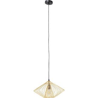 Karé Design Pendant Lamp Modo Wire Round - gold