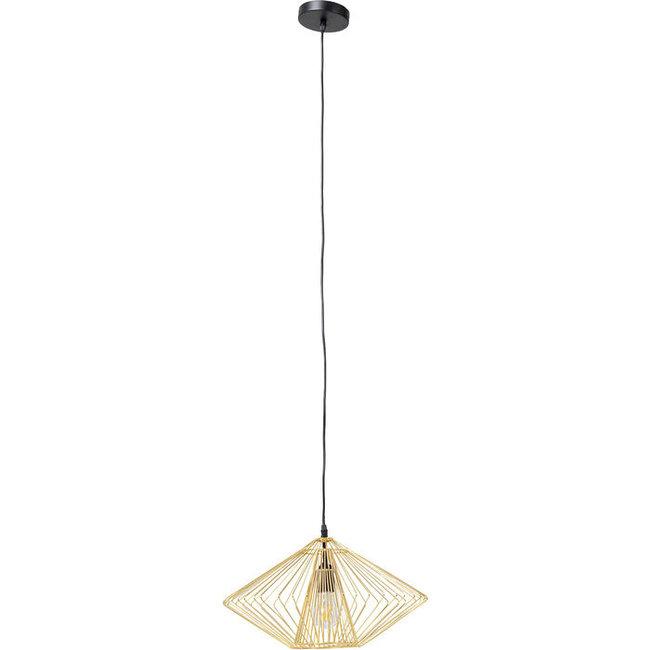 Karé Design Lampe de Plafond Modo Wire Round - doré