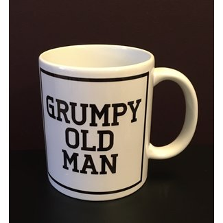 Urban Merch Beker Grumpy Old Man