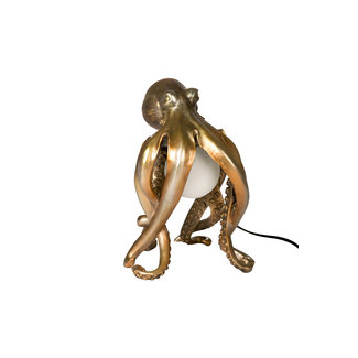 Table Lamp Golden Octopus