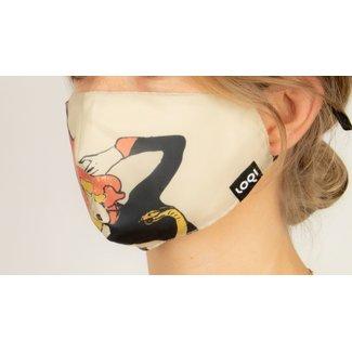 Loqi Mondmasker Kunst - Toulouse Lautrec