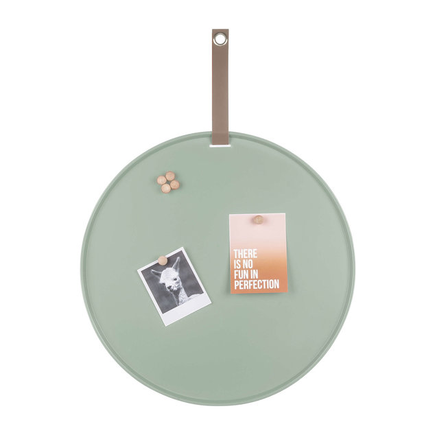 Present Time Magnetic Board Perky - green