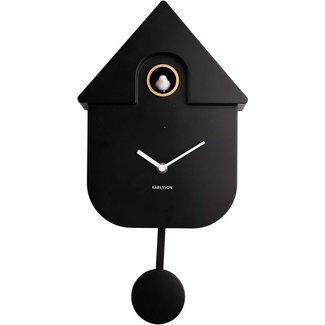 Karlsson Koekoeksklok Cuckoo House - zwart