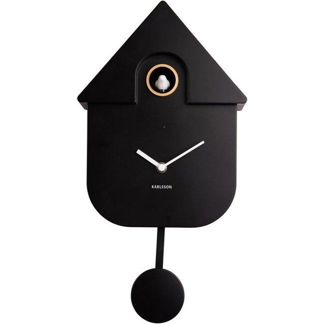 Karlsson Cuckoo Clock Cuckoo House - black