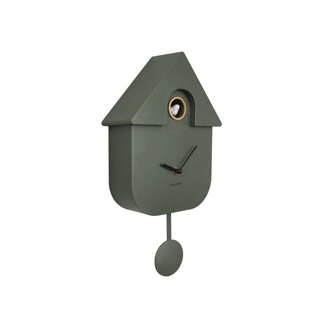 Cuckoo Clock Cuckoo House - jungle green