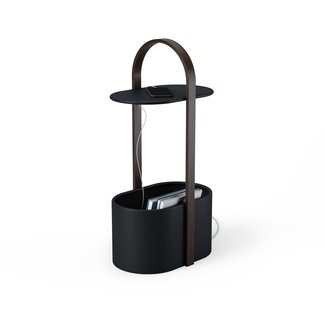 Umbra Table d'Appoint Hub Storage - noir