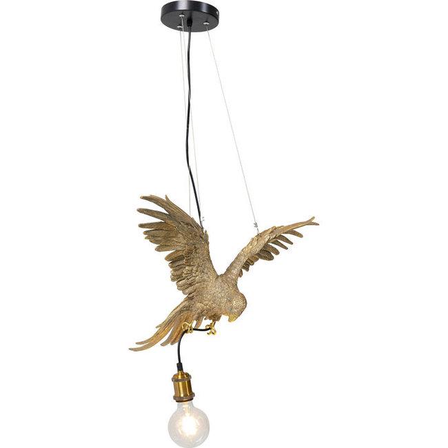 Karé Design - Hängelampe - Tierlampe Papagei