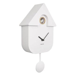 Karlsson Cuckoo Clock Cuckoo House - white