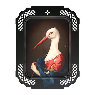 Ibride Tray / Wall Art  - Stork