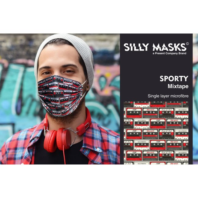 Silly Masks Mouth Mask Mixtape