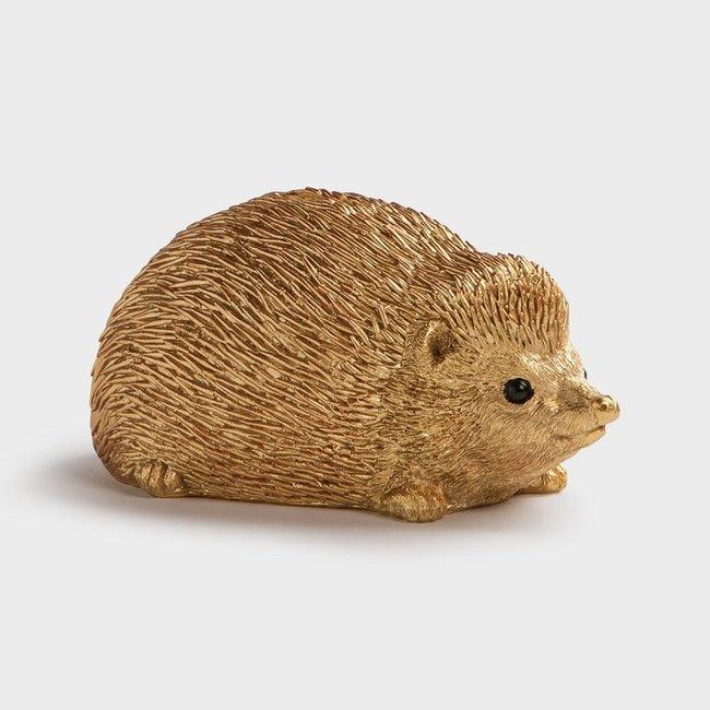 &klevering - Money Box Hedgehog - gold
