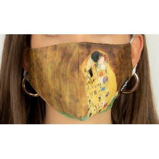 Loqi Mouth Mask Art - The Kiss