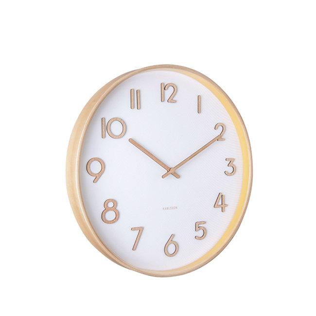 Karlsson - Horloge Murale Pure