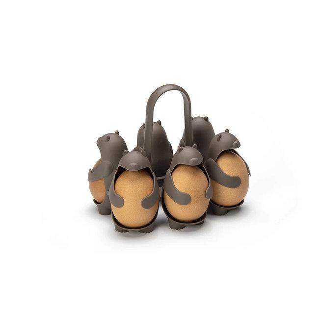 Peleg Design Chaudière à œufs - Porte-œufs Eggbears