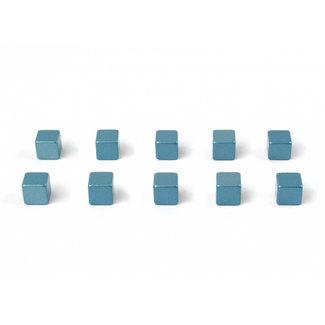 Trendform Magnete Kubiq - eisblau