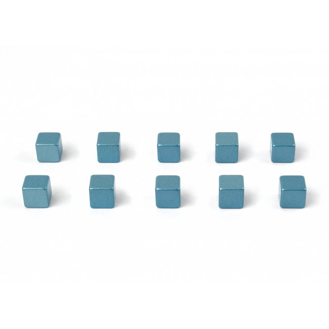 Trendform - Magnets Kubiq - ice blue - set of 10