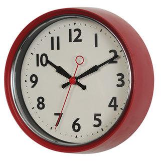 Rex London Horloge Murale 1950's - rouge