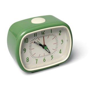 Rex London Retro Alarm Clock - green