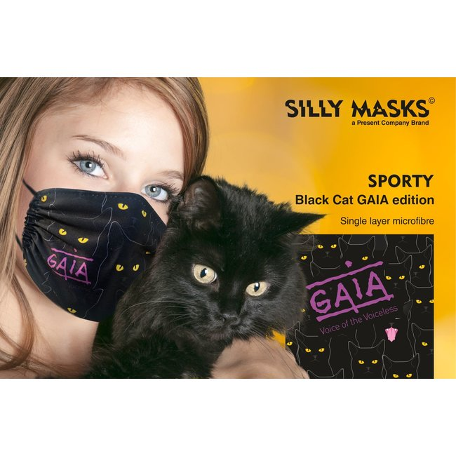 Silly Masks - Mouth Mask Gaia - Voice Of The Voiceless - we donate €1 to GAIA