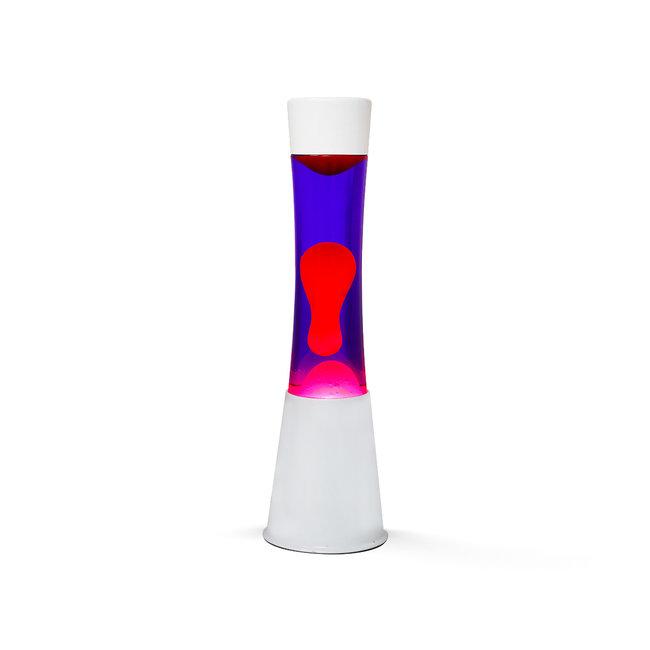 i-total Lampe à Lave  - violette avec lave rose