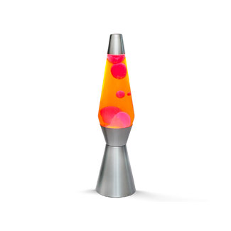 i-total Lava Lamp Rocket - orange with red lava