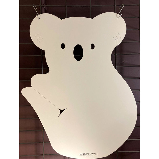 FAB5 Wonderwall - Magnettafel Koala - Weiß - H 60 cm