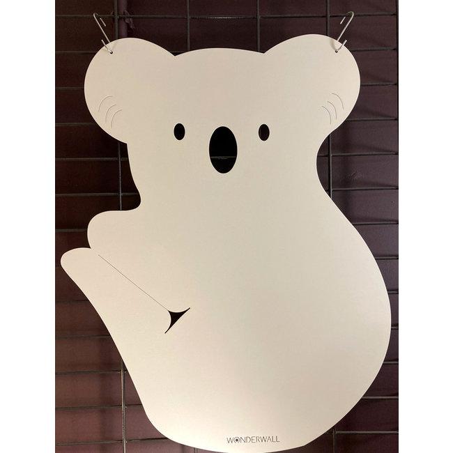 FAB5 Wonderwall - Tableau Magnétique Koala - blanc cassé - H 60 cm
