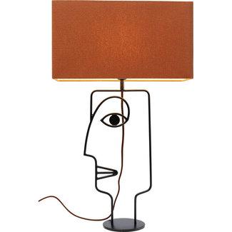 Karé Design Tafellamp Face Wire