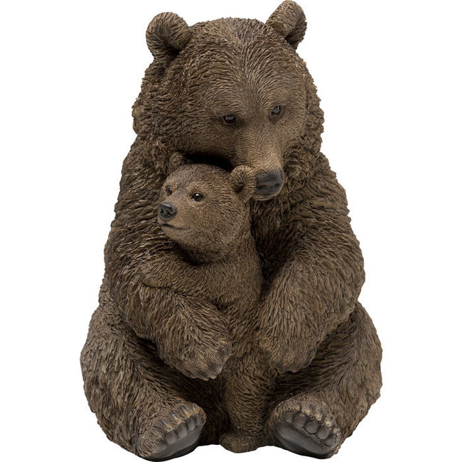 Karé Design Statue Cuddle Bear Family