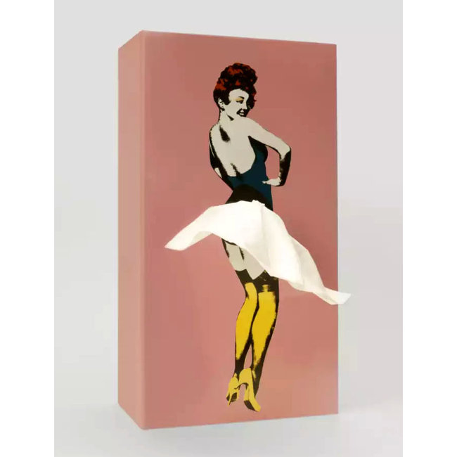 Spextrum Tissue Case Tissue Up Girl - pink