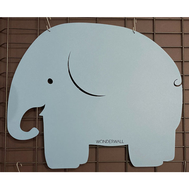 FAB5 Wonderwall Magnettafel - Notiztafel Elefant