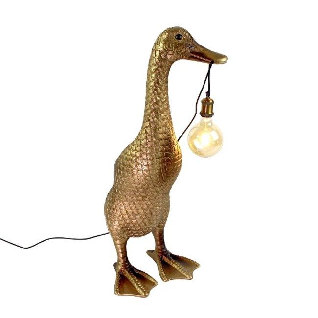 Werner Voß - Vloerlamp - Dierenlamp Eend Ducky - H 90 cm
