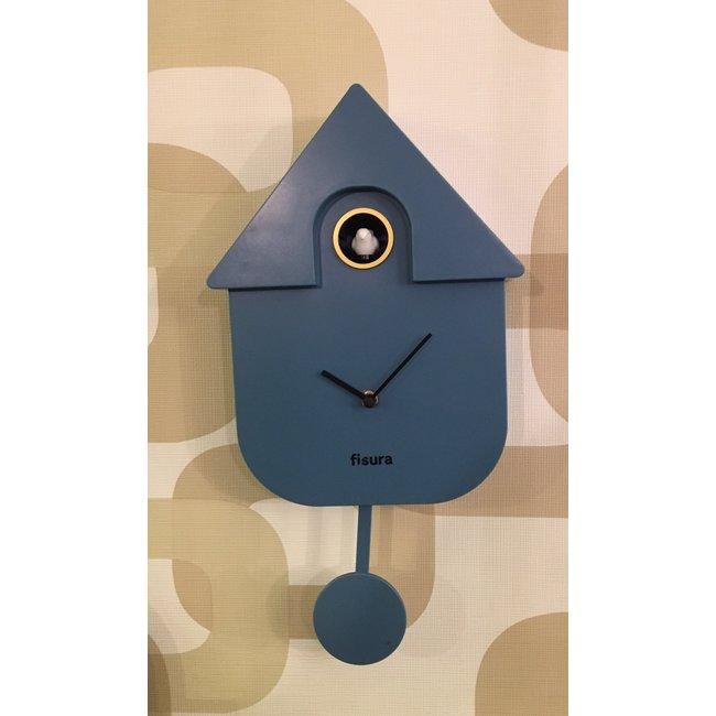 Fisura Koekoeksklok Cuckoo House - blauw