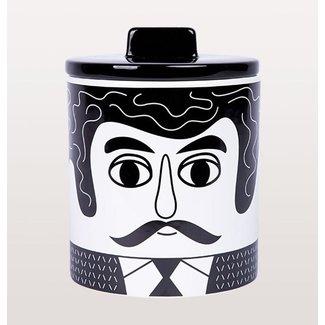 Kitsch Kitchen Pot de Stockage Carlos