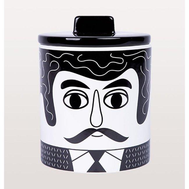 Kitsch Kitchen Storage Jar Carlos