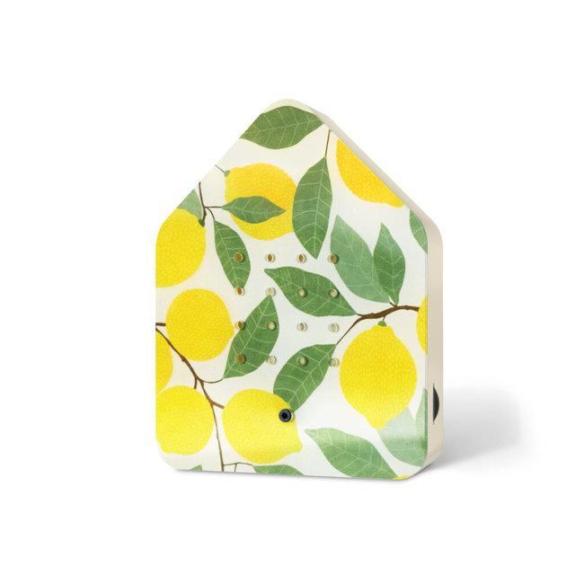 Zwitscherbox Bewegungsmelder - Vogelstimmen - Zitrone