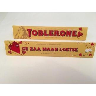 Toblerone Chocolade - Ge Zaa Maan Loetse