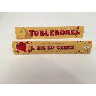 Toblerone Schokolade - 'k Zie Eu Geere