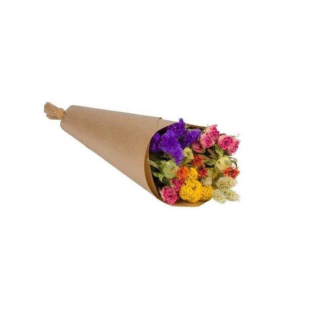 Plantophile Trockenblumenstrauß - mehrfarbig - small