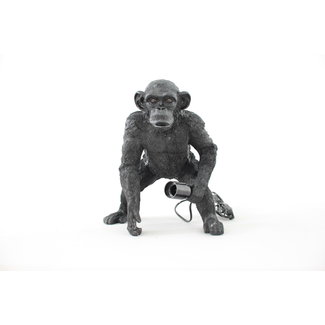 Table Lamp - Curved Monkey