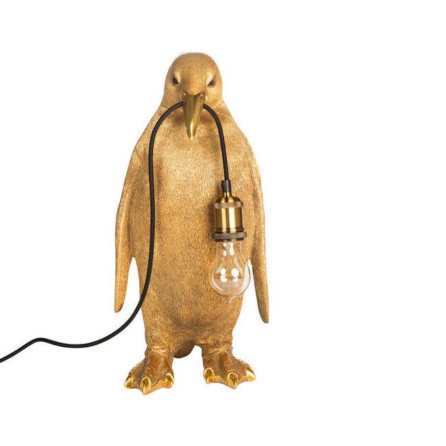Tafellamp Pingouin - or - H 50 cm