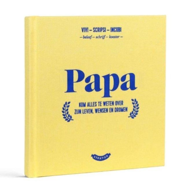 Stratier Boekje Wonderjaren Papa