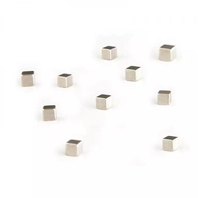 Trendform - Magnete Kubiq Silber - 10er-Set