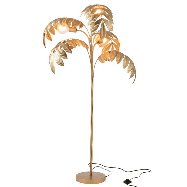 Stehlampe Palme