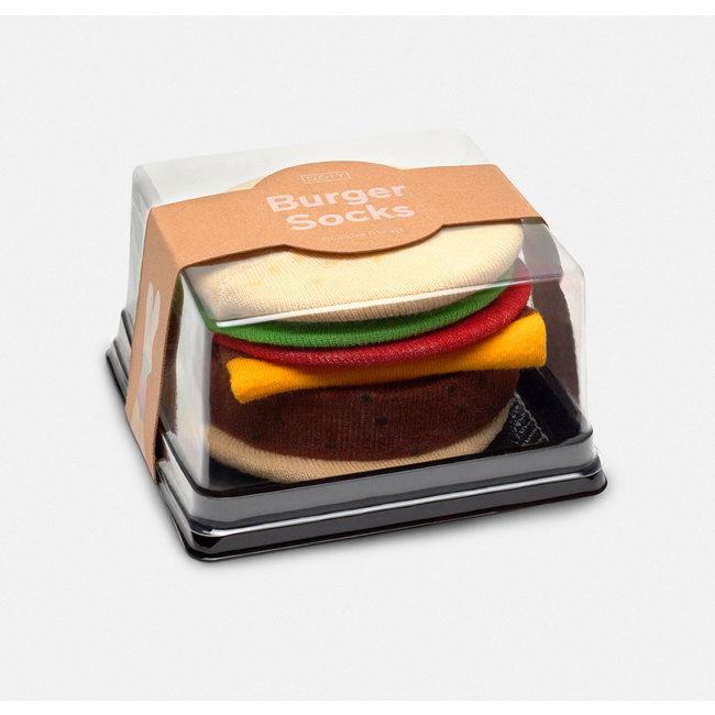 DOIY Socks Hamburger
